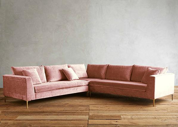 Designerm bel ausstellungsst cke direkt vom premiumh ndler for Sofa altrosa